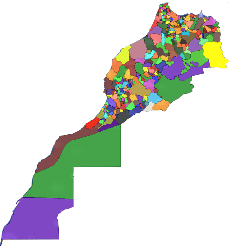 Carte Maroc Png.Moroccan Tribes